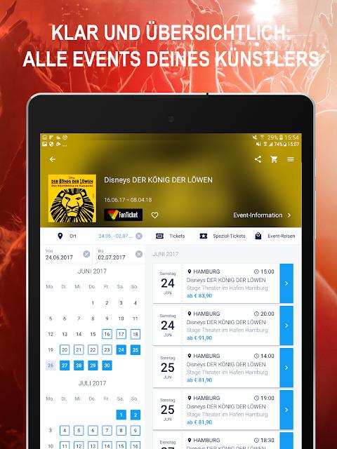 Android EVENTIM DE Screen 10