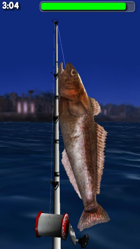 Android Big Night Fishing 3D Screen 5