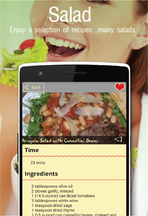 1000+Salad Recipes FREE 8.0 Screen 2