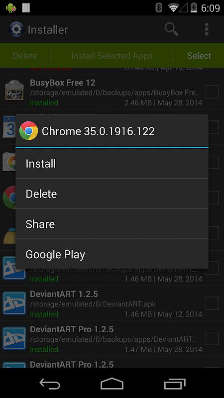 Installer Pro 3.4.2 Screen 1