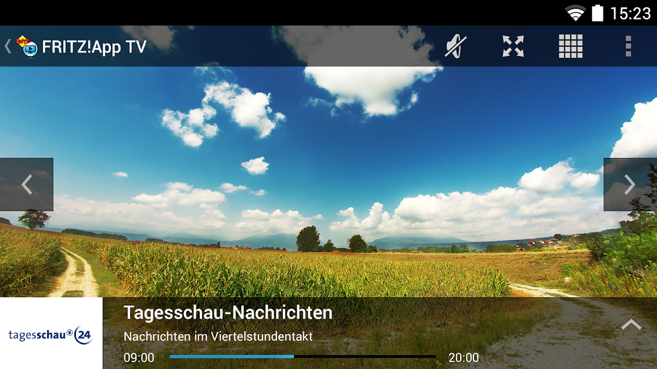 Android FRITZ!App TV Screen 1