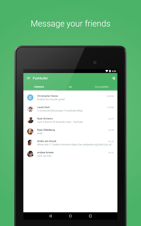 Pushbullet - SMS on PC 17.8.15 Screen 10