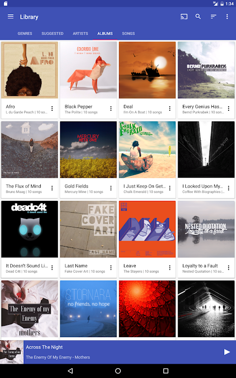 Shuttle+ Music Player 2.0.7-beta1 Screen 9