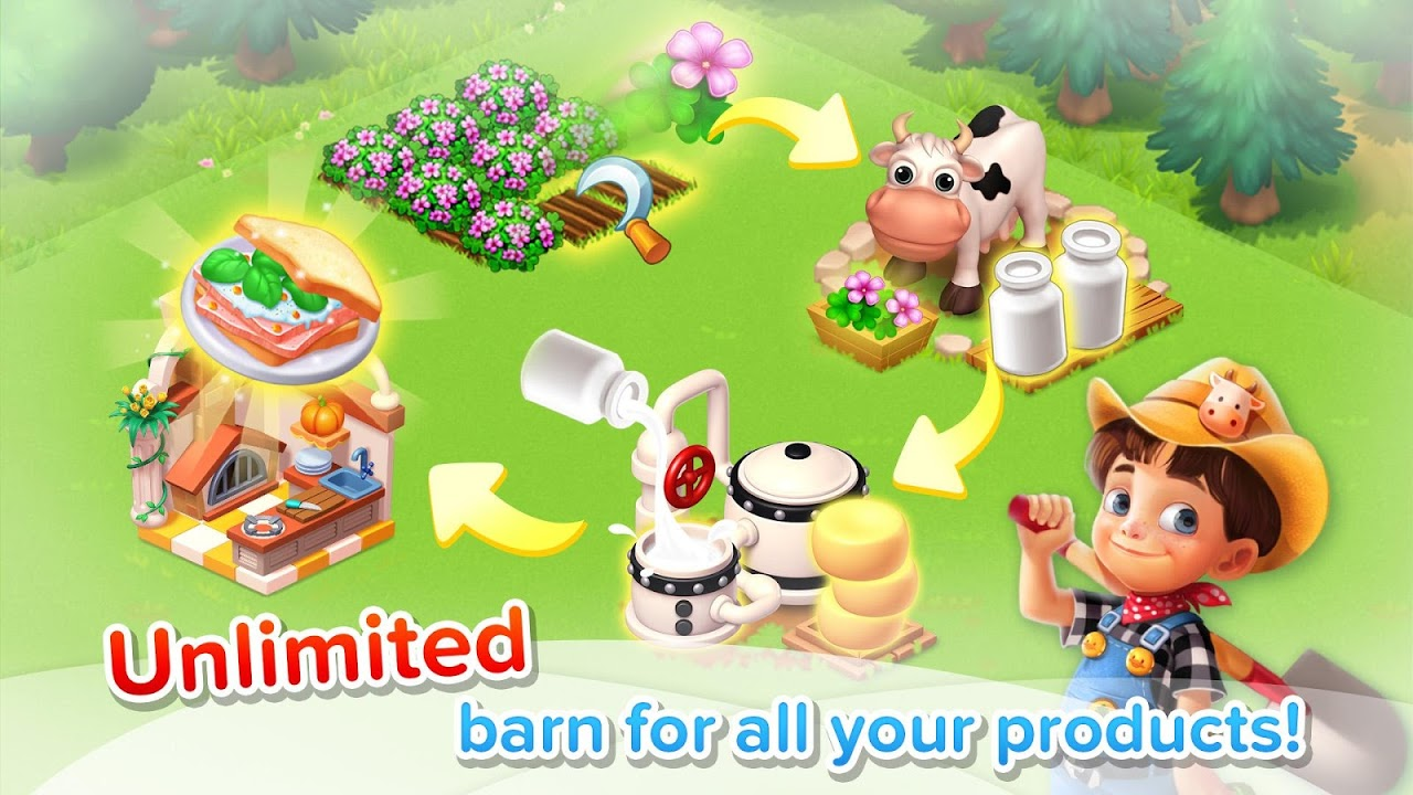 Android Family Farm Seaside Screen 4
