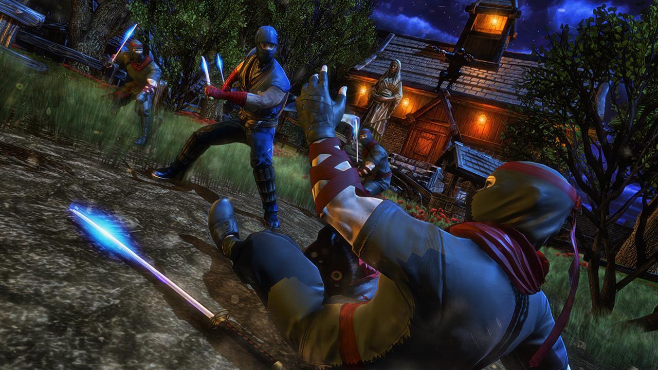 Android Ninja Fighting Spree Screen 1