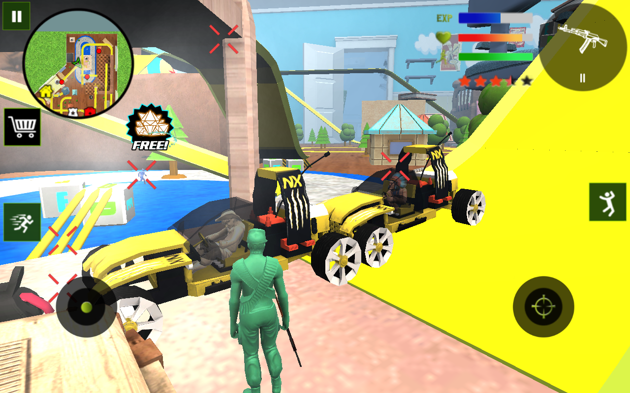 Army Toys Town 1.0 Screen 6
