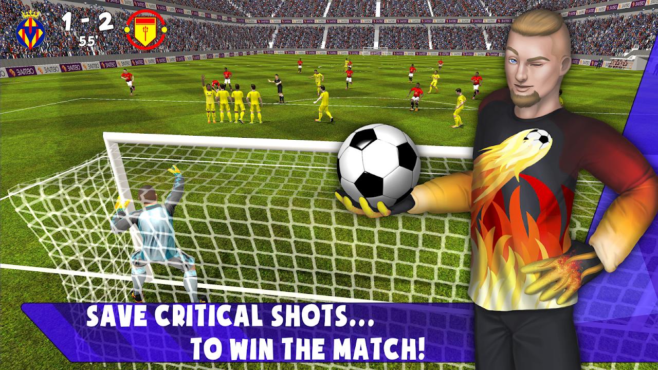 Save! Hero - Goalkeeper Football Game 2019 1.1 Screen 5