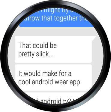 Android Pulse SMS (Phone/Tablet/Web) Screen 1
