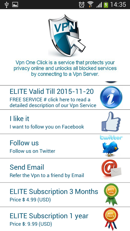 Android Vpn One Click Screen 12