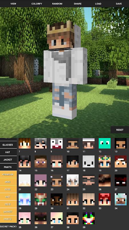 Custom Skin Creator For Minecraft 5.6 Screen 6