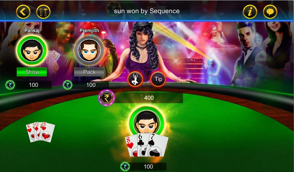 Android Teen Patti Screen 2