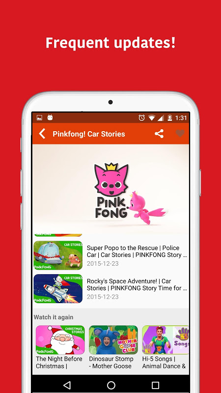 Android KidTV Screen 4