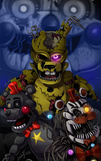 Five Nights at Freddy's Fnaf  Wallpapers HD 1.0 Screen 1