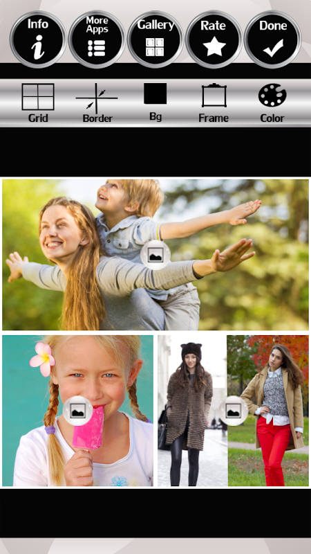 Android Four Seasons Photo Collage Screen 2