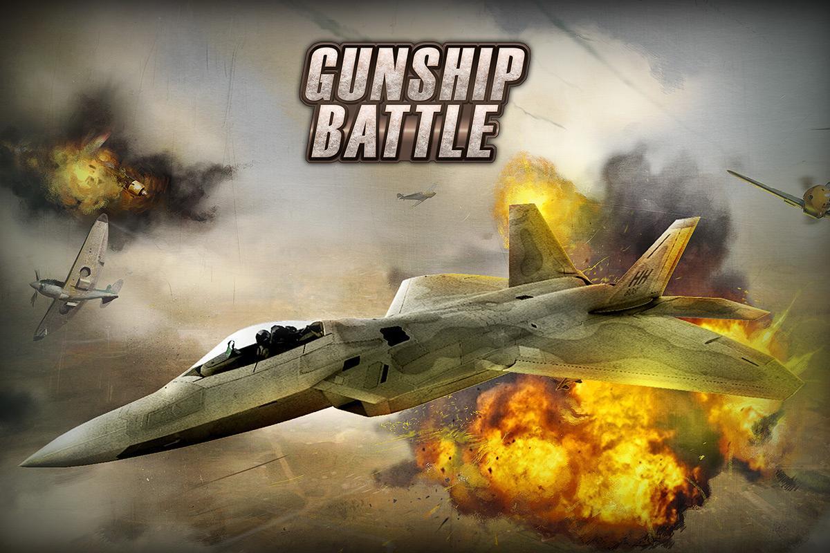 GUNSHIP BATTLE: Helicopter 3D 2.5.31 Screen 1