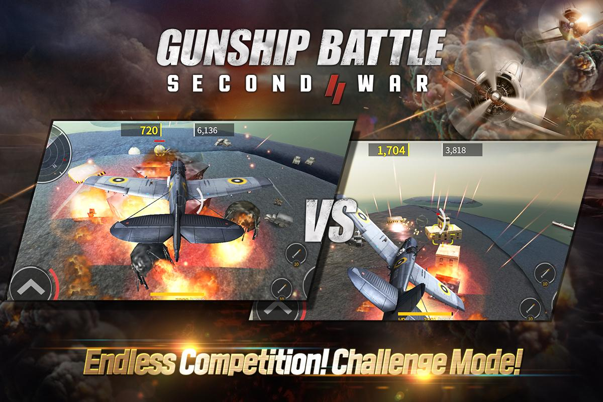 Android GUNSHIP BATTLE: SECOND WAR Screen 4