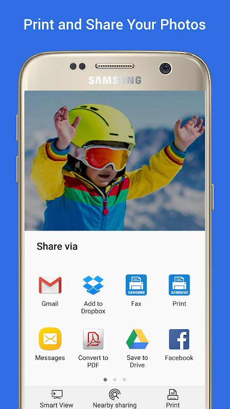 Samsung Print Service Plugin 3.03.180907 Screen 3