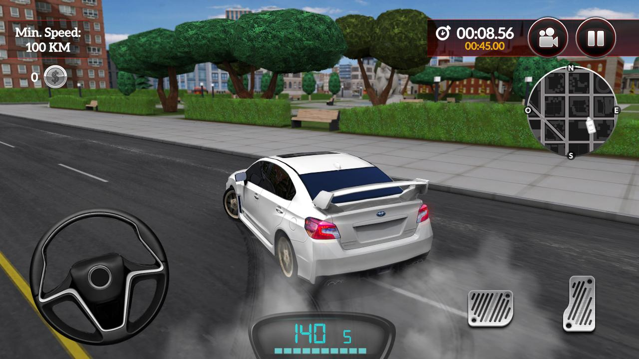 Android Drive for Speed: Simulator Screen 4
