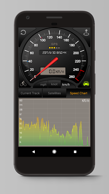 Android Speedometer GPS Pro Screen 3