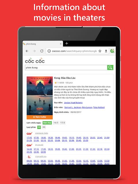Cốc Cốc Browser 76.0.116 Screen 4