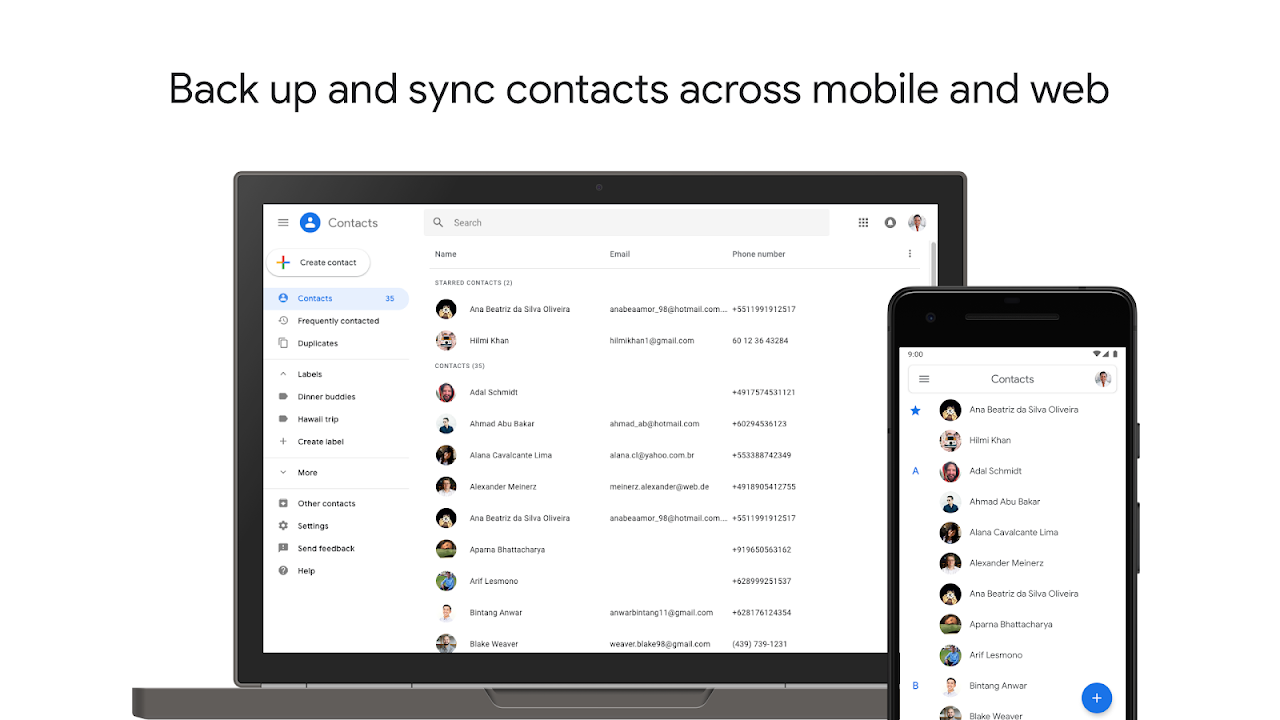Contacts 3.8.4.266256636 Screen 4