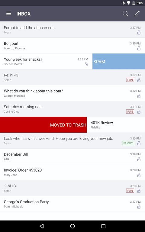 ProtonMail - Encrypted Email 1.10.3 Screen 3