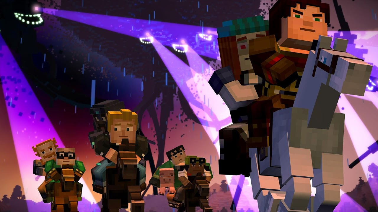 Android Minecraft: Story Mode Screen 3