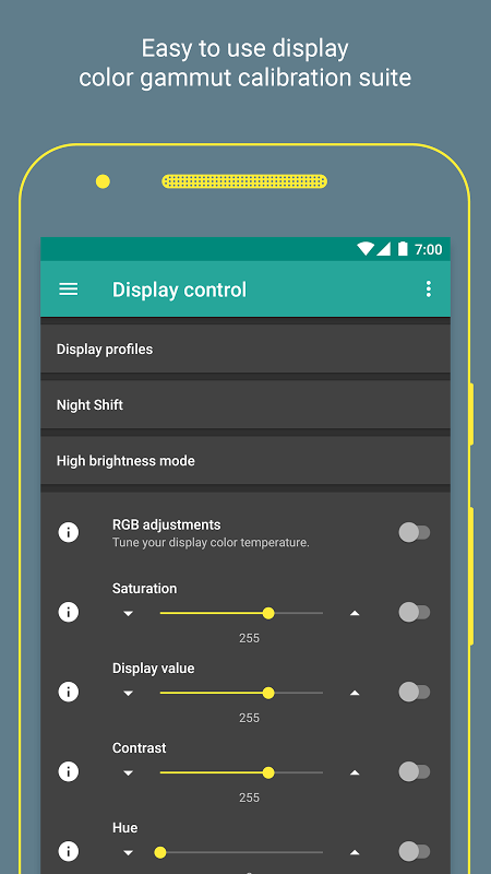 Android Manager & Updater for Franco Kernel Screen 2
