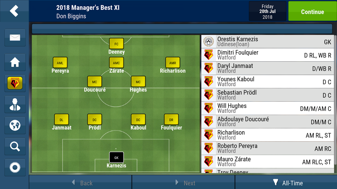 Football Manager Mobile 2018 9.0.3 (ARM) Screen 11