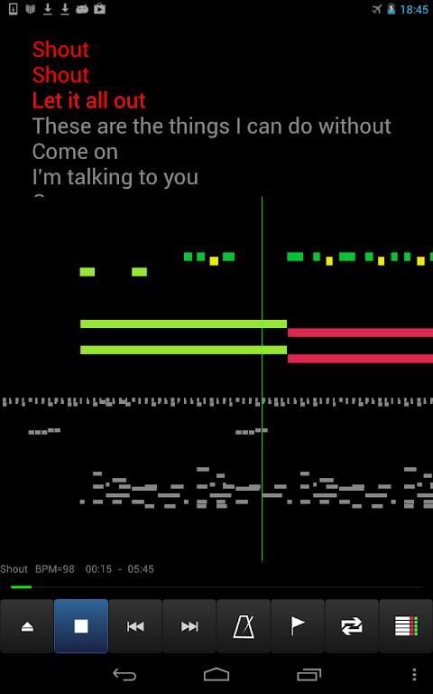 MIDI Voyager Karaoke Player 5.3.3 Screen 20