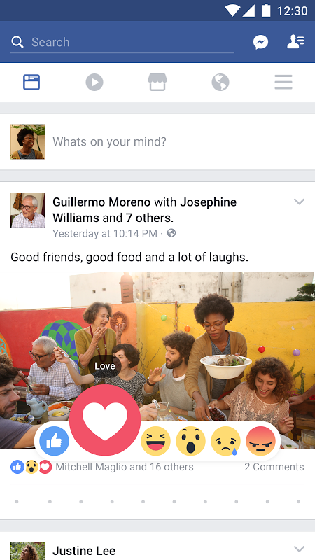 Facebook 122.0.0.0.19 Screen 4