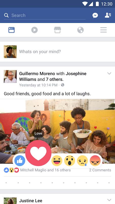 Facebook 122.0.0.0.19 Screen 4