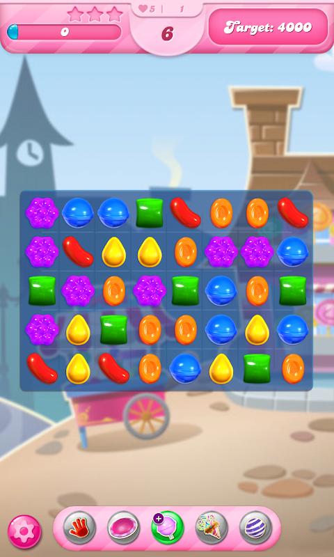 Android Candy Crush Saga Screen 14