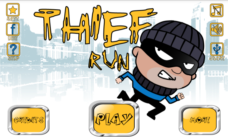 Android Thief Run Screen 3