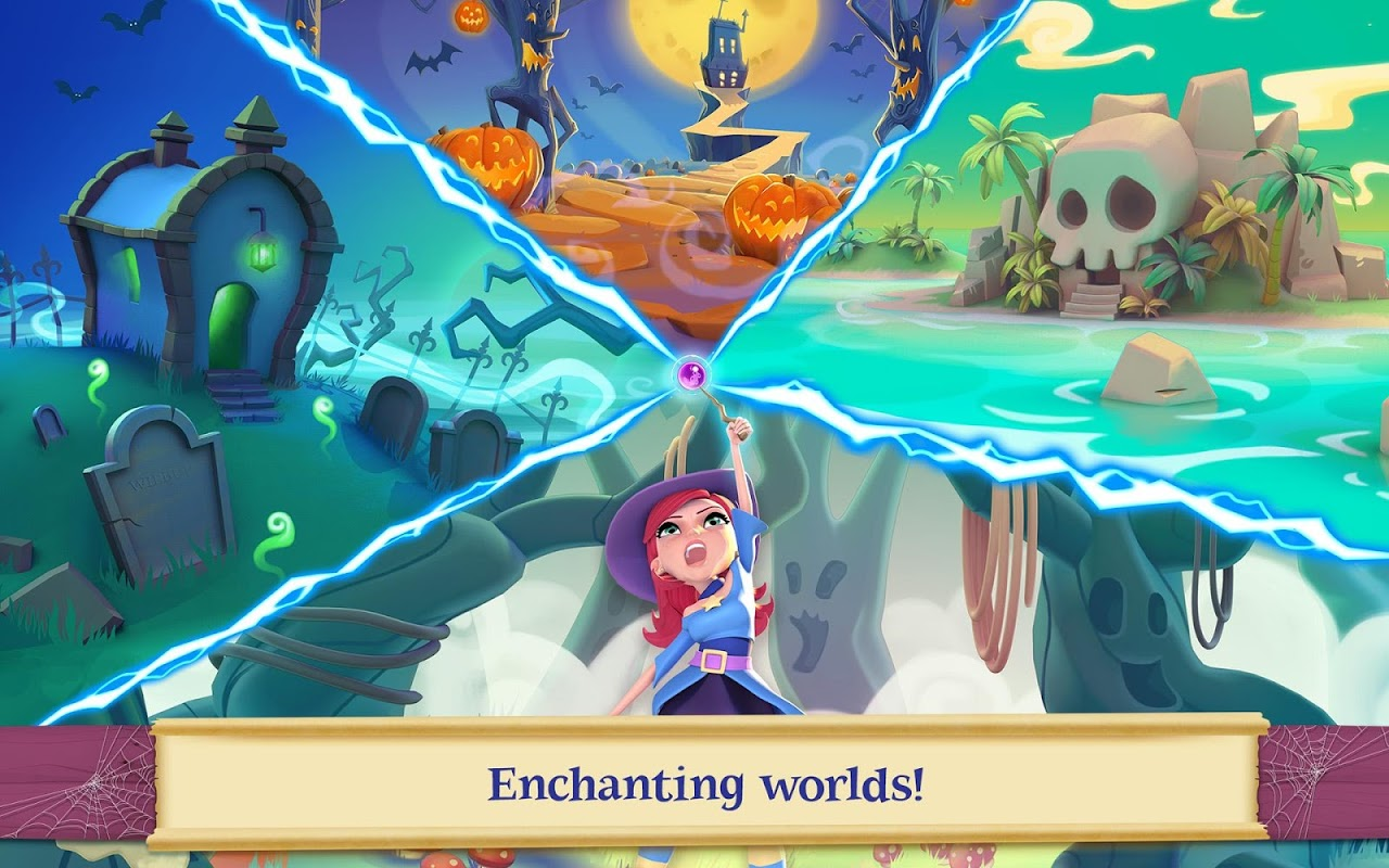 Android Bubble Witch 2 Saga Screen 14