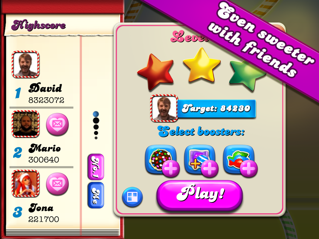 Android Candy Crush Screen 2
