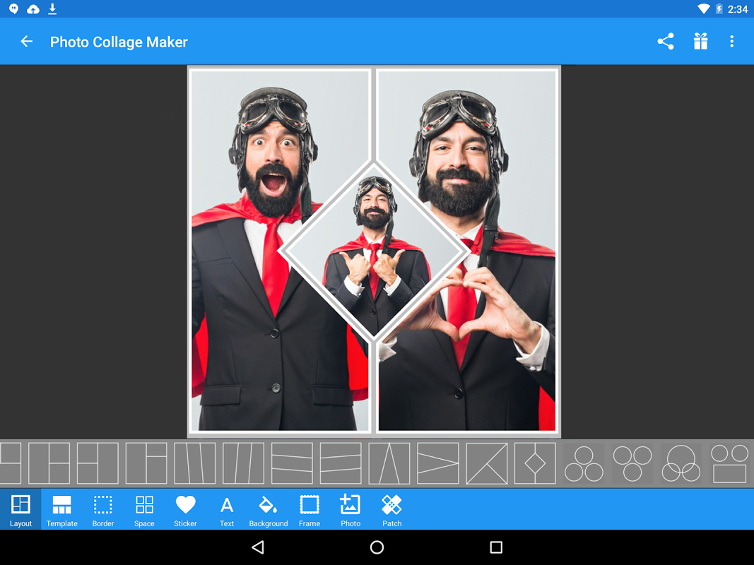 Android Photo Collage Maker Screen 7