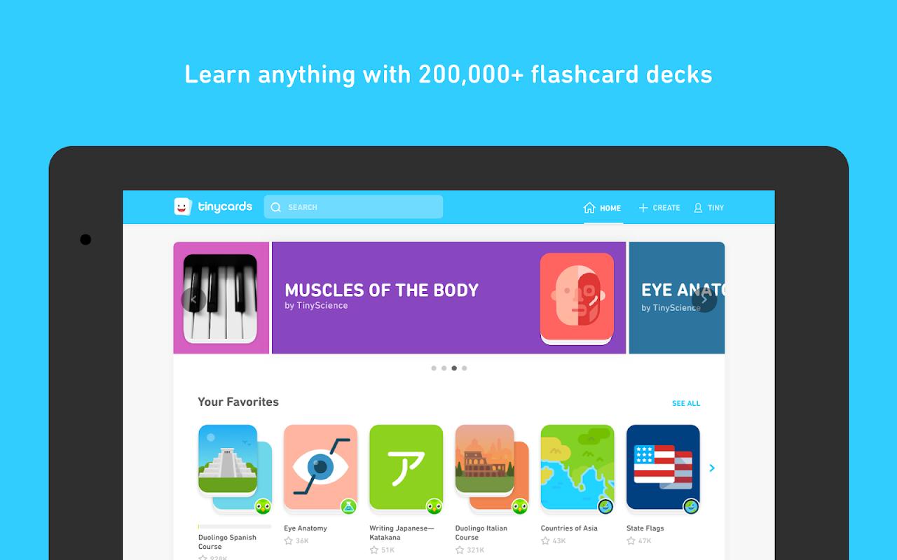 Tinycards by Duolingo: Fun & Free Flashcards 1.0 Screen 4