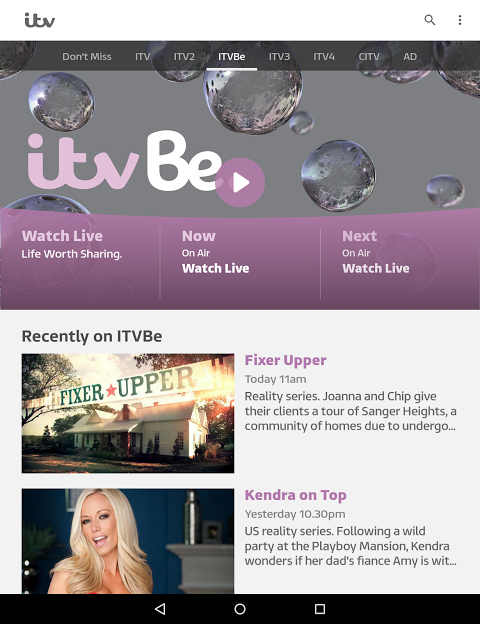 ITV Player 2 1 1 APK Download by TV Player   Android APK