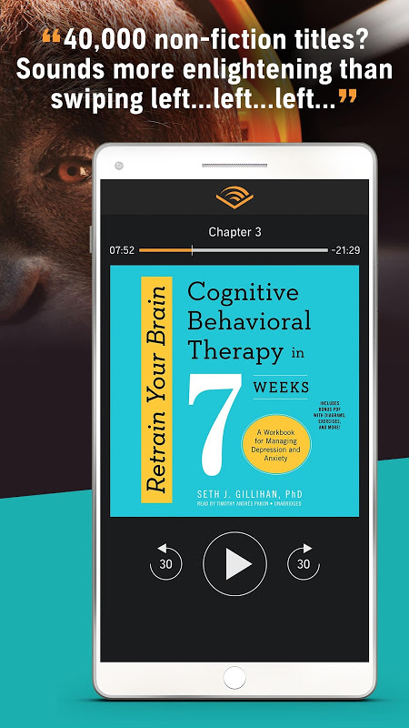 Audiobooks from Audible 2.31.1 Screen 4