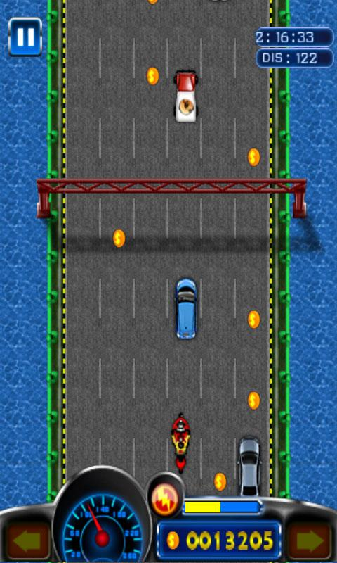 Android Extreme Moto Racing Screen 3
