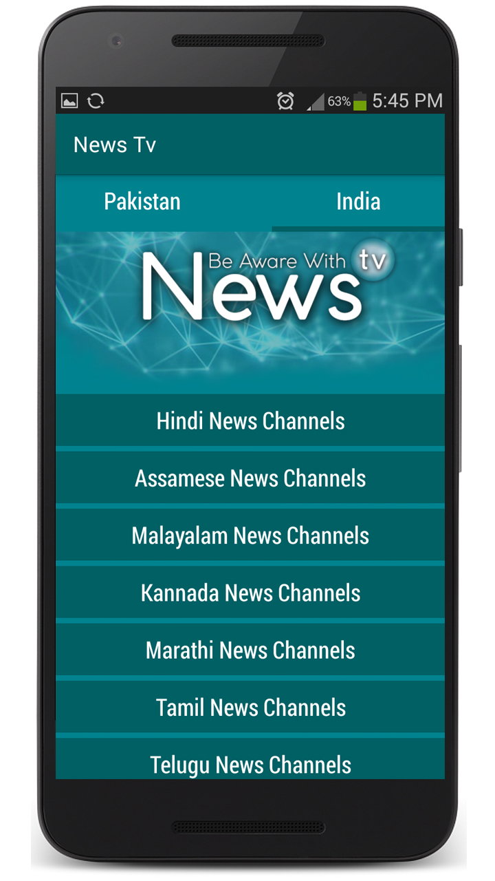 News TV IND & PK 1.1 Screen 3