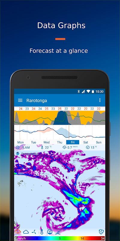 Android Flowx: Weather Map Forecast App Screen 1