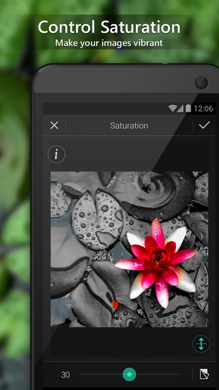 Android PhotoDirector Photo Editor App Screen 3