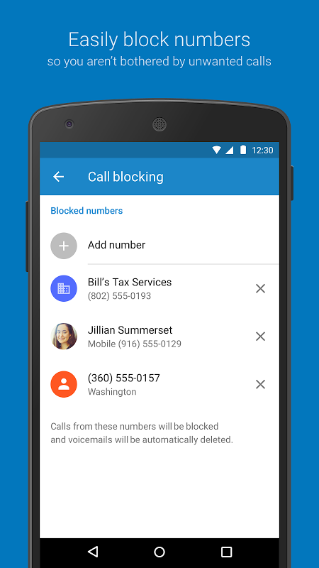 Google Dialer 1.2 Screen 4