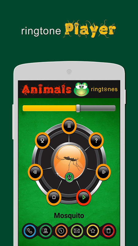 Android Animals ringtones Screen 1
