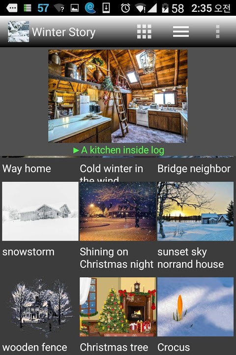 Android Winter Story Pro Screen 11