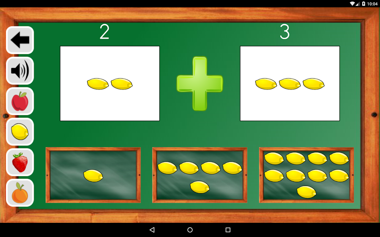 Android Maths Trainer Screen 18
