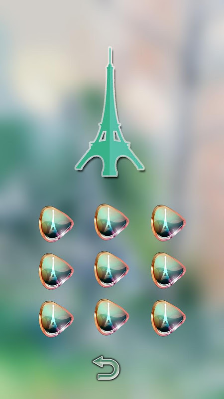 Android Eiffel Tower Of Paris Locker Screen 6