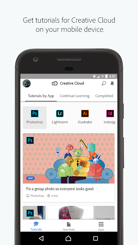 Adobe Creative Cloud 4.2.50 Screen 1